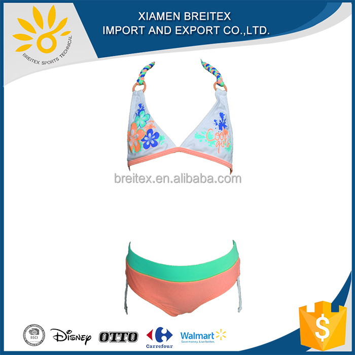 Hot Style Wholesale For Young Girl Swimsuit girls sexy kids bikini