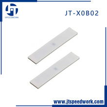 JT-X0B02 heat resistant alien h3 laundry silicone rfid uhf clothing tag for clothes washing management system