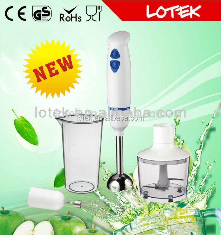 quietly DC motor commercial immersion blender