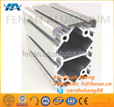 finely processed aluminum extrusion solar panel frame