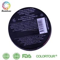 Colorful box logo printing hair wax gel