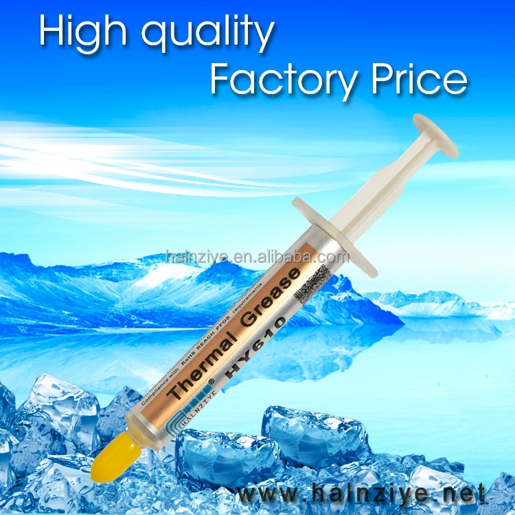 2015 hot sell cpu heat sink thermal paste,silicone grease,conductive compound by RoHs test for cpu cooler