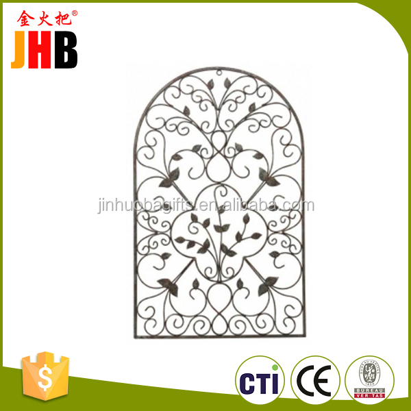 Different shape home and garden fence craft metal decoration