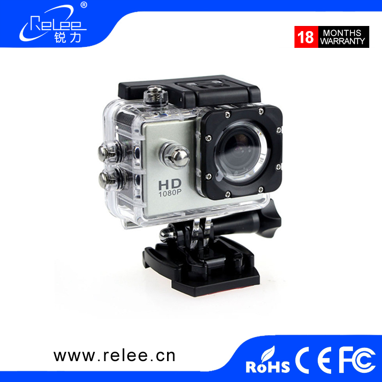 Best 30m waterproof full HD 1080p sport DV video Montion detection action camera Mini DV