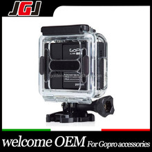 JGJ OEM for Gopro Hero 3 Skeleton Protective Housing, Side-opening & Backdoor with Hole
