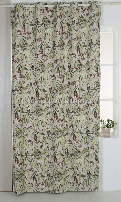 Wholesale customized latest designs window blackout luxury curtain