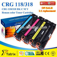 Remanufactured Toner Cartridge CRG118 CRG318 CRG718 For Canon Color Toner Use For Canon LBP8380cdw Color LaserJet Printer