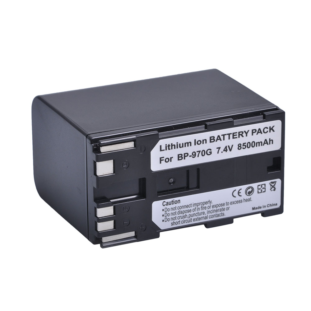 Rechargeable Li-ion Battery BP-970G for Canon EOS <strong>C100</strong> Mark II EOS C300 EOS C300 PL GL2 XF100