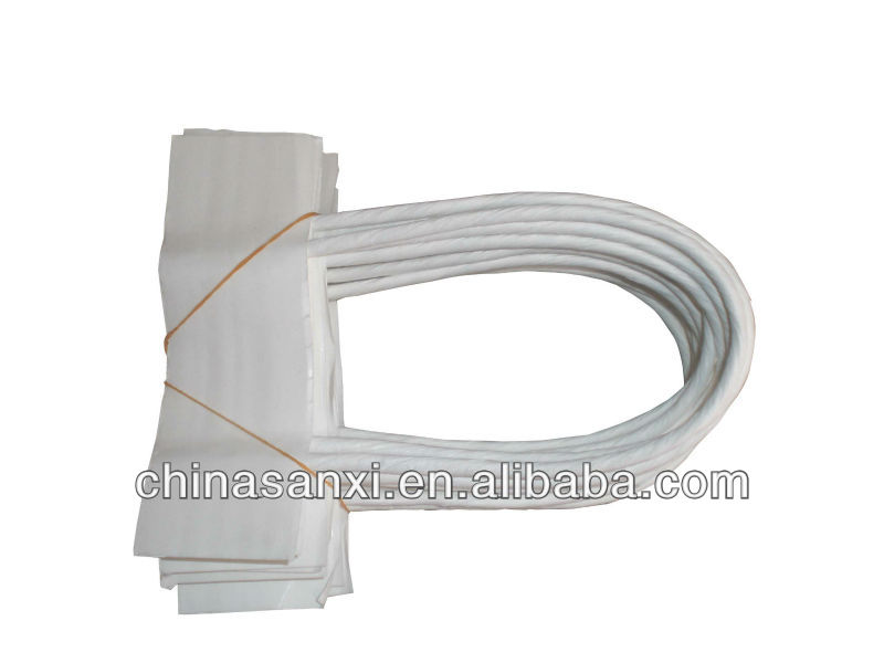 Small size paper twine for paper handle bag/ paper twisted cord