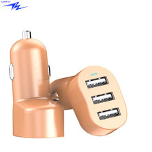 2017 Wholesale mobile phone Quick Charge 5V5.8A 3 usb car charger