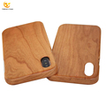 Real walnut wooden cell phone case for iphone X