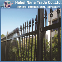 Decorative garden fencing powder Coated Triangle Welded Wire Mesh Fencing Supplier