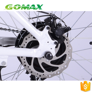 350w 20*4.0 inch fat tyre lady foldable mtb electric bicycle city four wheel e bike