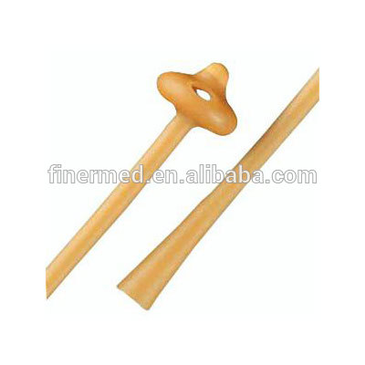 Medical Pezzer Mushroom Latex Catheter