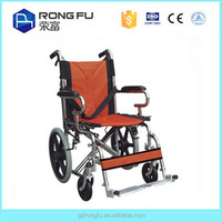 Economic chrome plating frame Wheel chair for disabled care