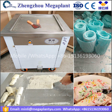 600mm big pan R410A Panasonic Thailand rolled fried ice cream machine /frying ice pan machine price
