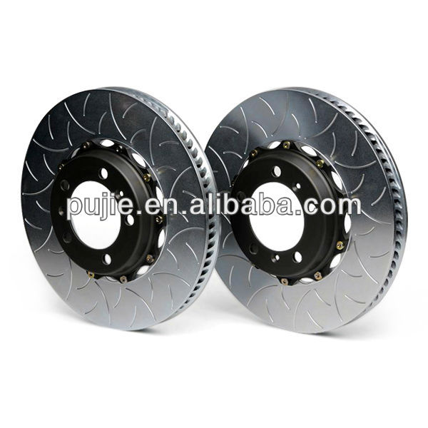 Slotted and Cross Drilled Brake Disc Rotor