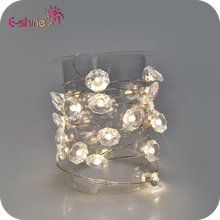 Main Operated Coco Crystal Chic String Lights