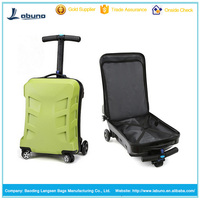 Hot selling scooter luggage fashion scooter suitcase luggage trolley bag