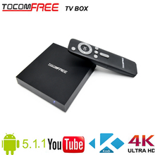 2016 Network Tocomfree Android TV box with Android 5.1.1 and Kodi 16.1 set-top box for worldwide