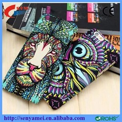 China supplier animal shaped phone case for iphone 6 5s with king of the forest pattern online shopping