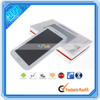 High Quality 6.5 Inch Android Tablet PC 2G Call A13 Single Core / Bluetooth / Dual Camera White