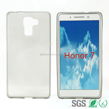 Transparent Ultra Thin 0.65mm TPU Mobile Phone Case for Huawei Honor 7