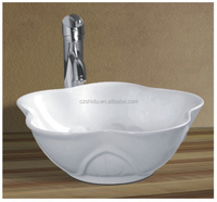 Round Bowl Sinks / Vessel Basins Type Countertop Sinks Type ceramic art basin