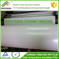 Corona Treated White Insulation Mylar /PET Film