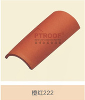 355*190*160mm glazed ceramic tile clay roof tiles for sale