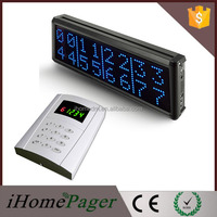 High-End Queue Calling System display 4 Groups or 8 Groups Queue Number