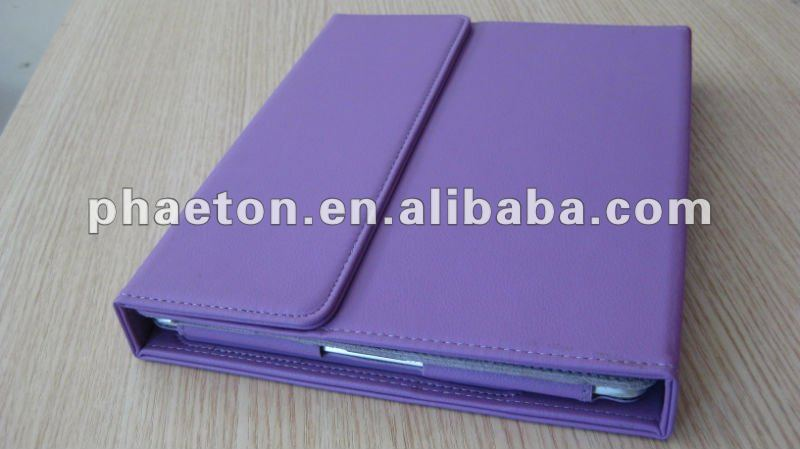 High-grade Bluetooth 3.0 Keyboard & cute leather case for ipad 2