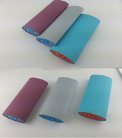 Colorful rechargeable battery 12000mah portable mobile power bank charger