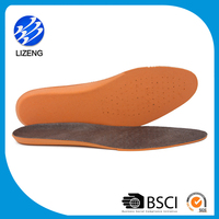 Wholesale real leather shoe inner sole for leather shoes