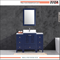 Frost Tempered glass top bathroom vanity T9315-48B