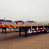 60tons Low Bed Semi Trailer On
