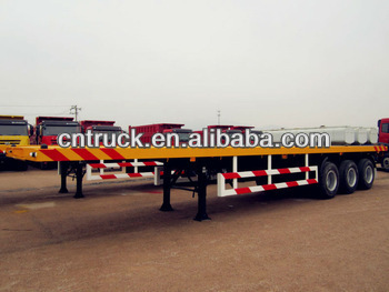 60tons low bed semi-trailer on sale