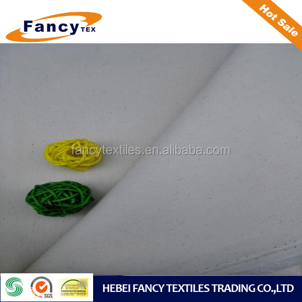 STIFF TOUCH PAPER TOUCH COTTON WOVEN PFD FABRIC DESIZING FABRIC FOR WAISTBRAND AND POCKET