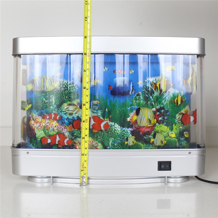 12v Led Night Light With Colorful Tropical Motion Fish