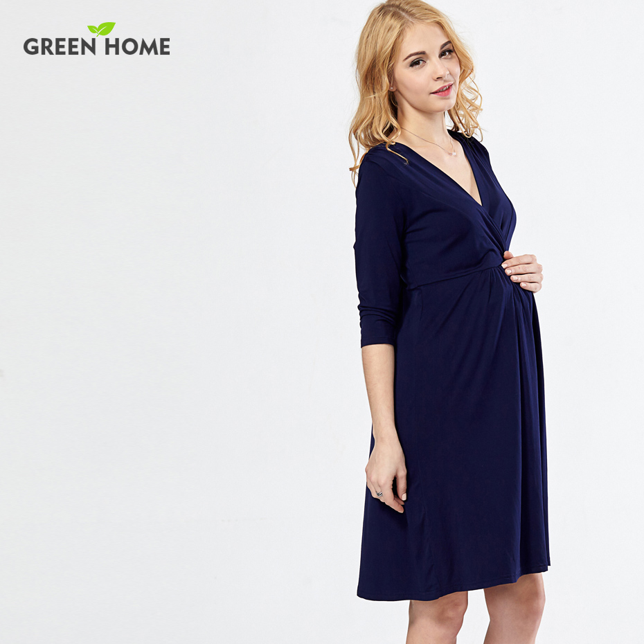 Wholesale long sleeves maternity dresses online buy best long stronglongstrong strongsleevestrong ombrellifo Choice Image