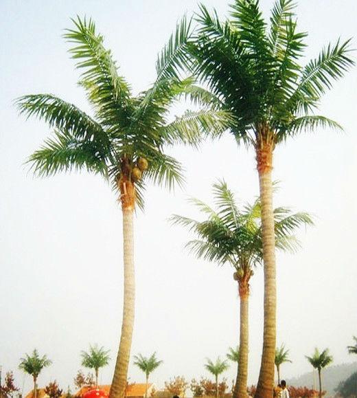 Decoracion artificial gran rbol artificial rbol de palma for Arbol artificial decoracion