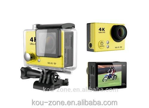2016 Wholesale Direct Ultra HD 4K Waterproof Sports Camera 12mp 30fps 4k Action Camera Wifi