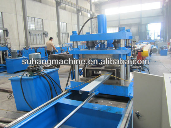 Hot Selling CZ gording Verwisselbare Roll Forming Machine