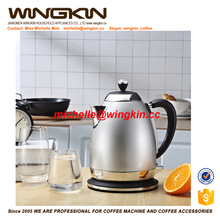 cheap 1.8L food grade plastic electric Kettle with water level window