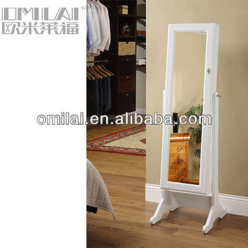 fashion home furniture jewelry crmoire with mirror
