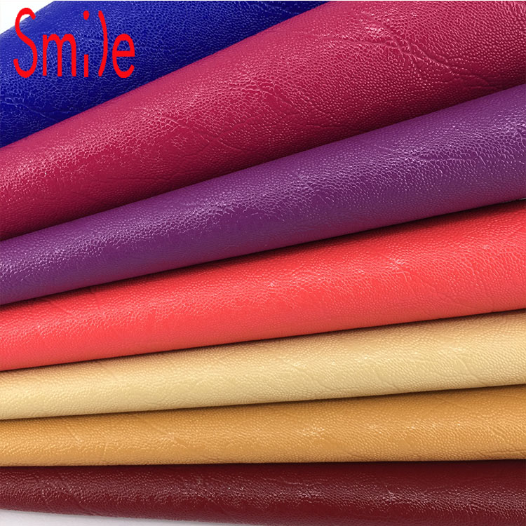 Pvc Leather For Bags synthetic leather fabric sofa material 0.9mm