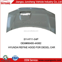 Iron Bonnet/Engine Hood For Hyundai Refine/Starex Auto Body Parts