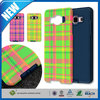 C&T Fashion Grid Pattern Hybrid Armor Case Dual Layer Phone Cover For Samsung Galaxy A5