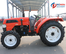 Chinese 45hp mini farm tractor plow for sale