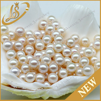 6mm 7mm 8mm AAA loose round white China natural freshwater pearl